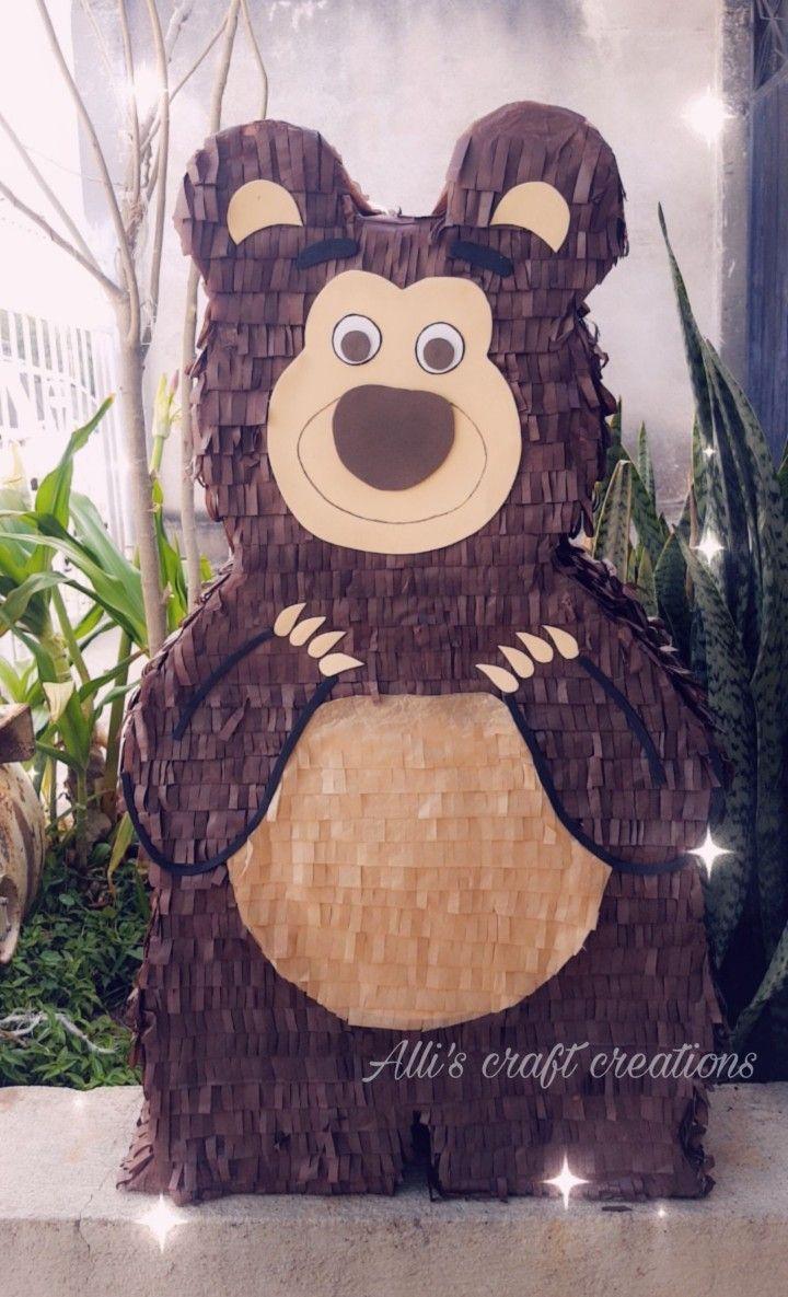 Piñata Oso By Masha Y El Oso