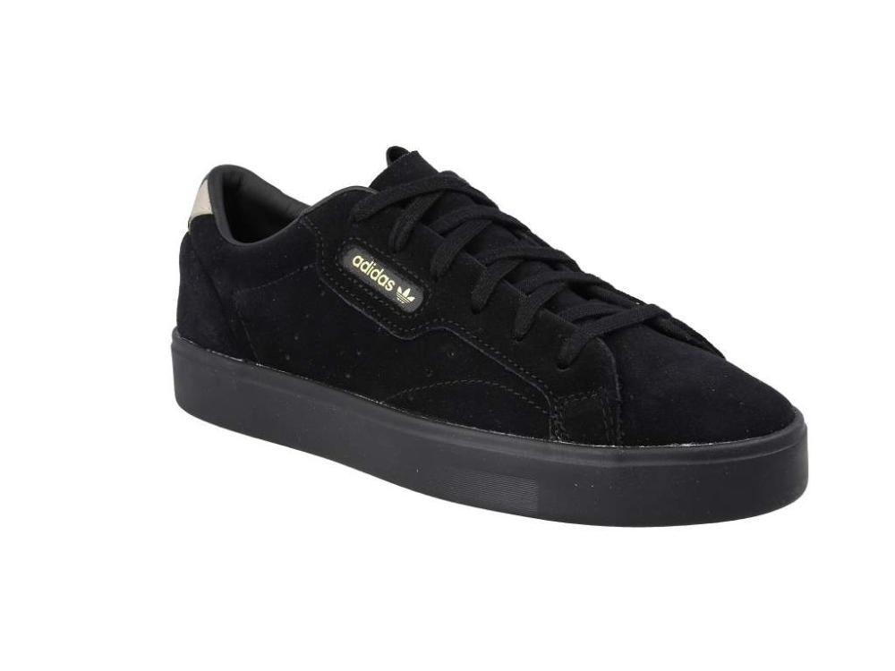 Correa Permeabilidad Triturado  Обувки adidas - Sleek W EE7104 Cblack/Cblack/Tecoli - Сникърси - Обувки -  Дамски - obuvki.bg | All black sneakers, Black sneaker, Sneakers