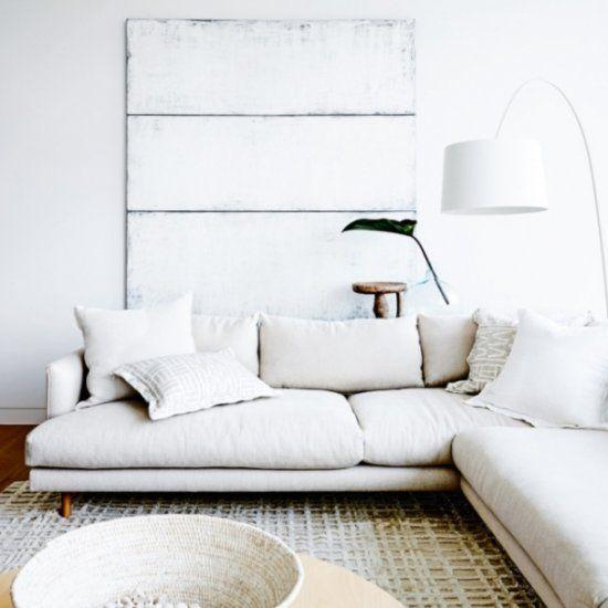 Weisse Couch Wohnzimmer Skandinavisch Pinterest Wohnzimmer