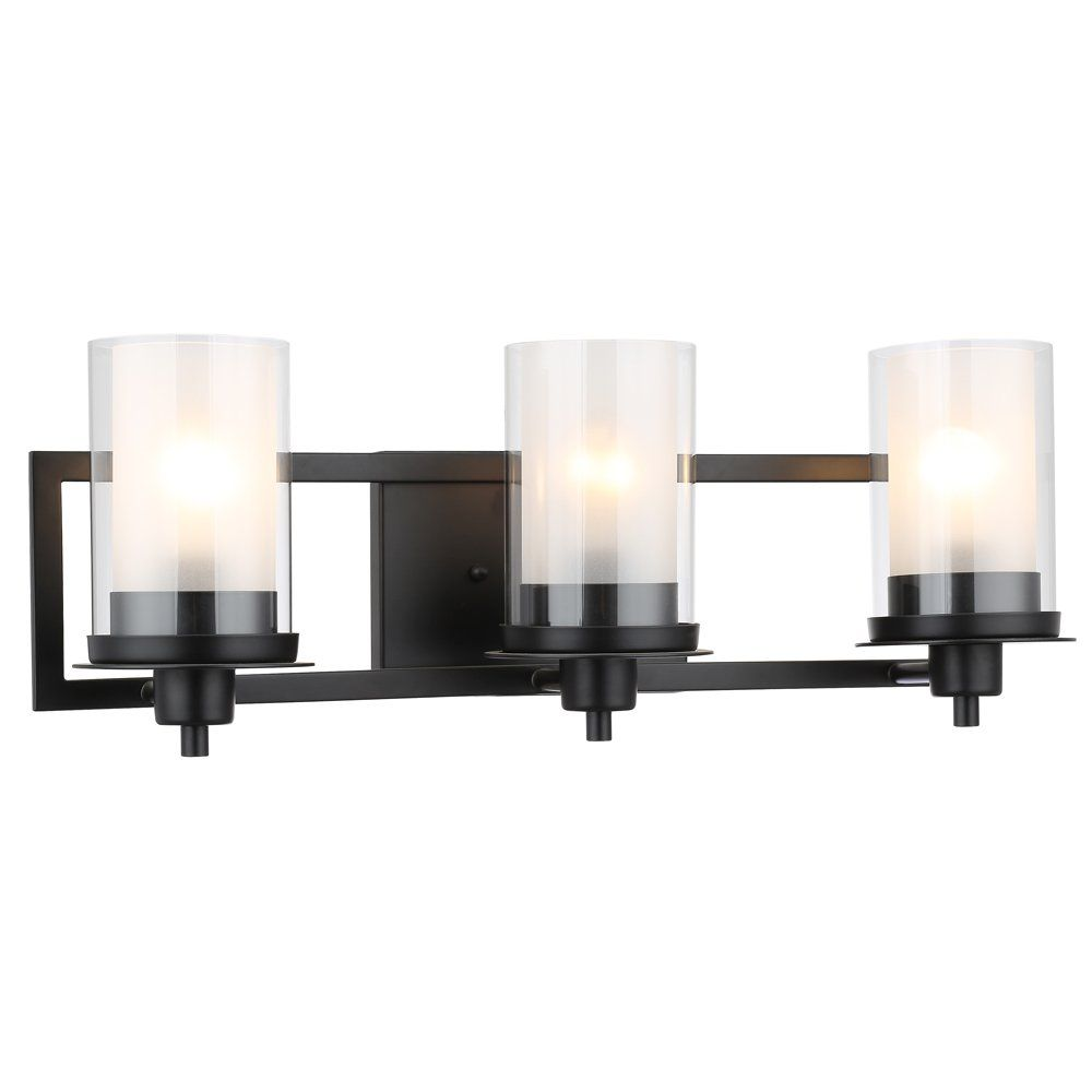 Bathroom Designers Impressions Juno Oil Rubbed Bronze 3 Light Wall Sconce