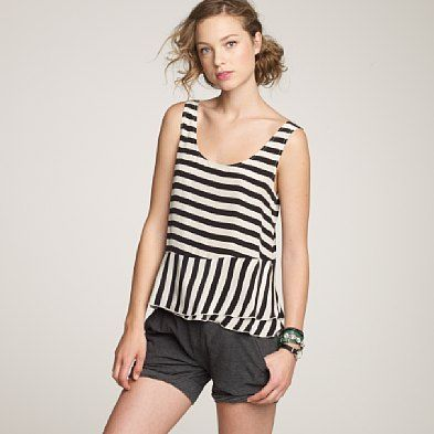 black and white stripes looking even more graceful than usual