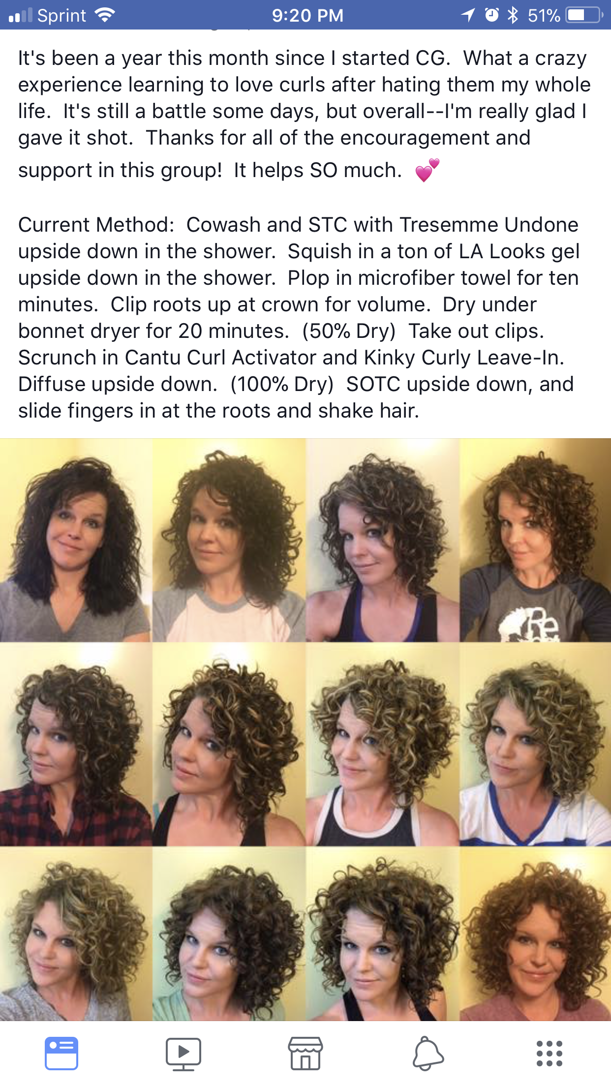 Curly Girl Method Curly Hair Styles Curly Natural Curls Curly Hair Problems