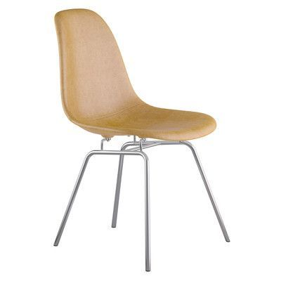 NyeKoncept Classroom Side Chair Color: Aged Maple, Finish: Gunmental