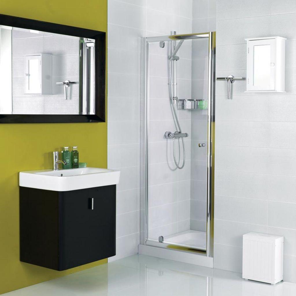 Installing Bathroom Shower Pivot Doors   Pivot doors, Small showers ...