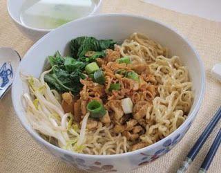 Resep Cara Membuat Mie Ayam Ala Wonogiri Resep Masakan Masakan Resep Makanan Asia