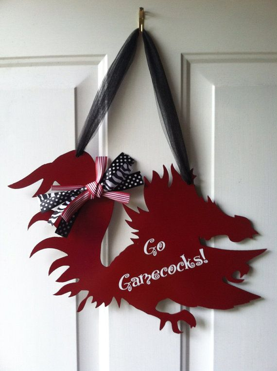 Hey, I found this really awesome Etsy listing at http://www.etsy.com/listing/160466095/gamecock-sign