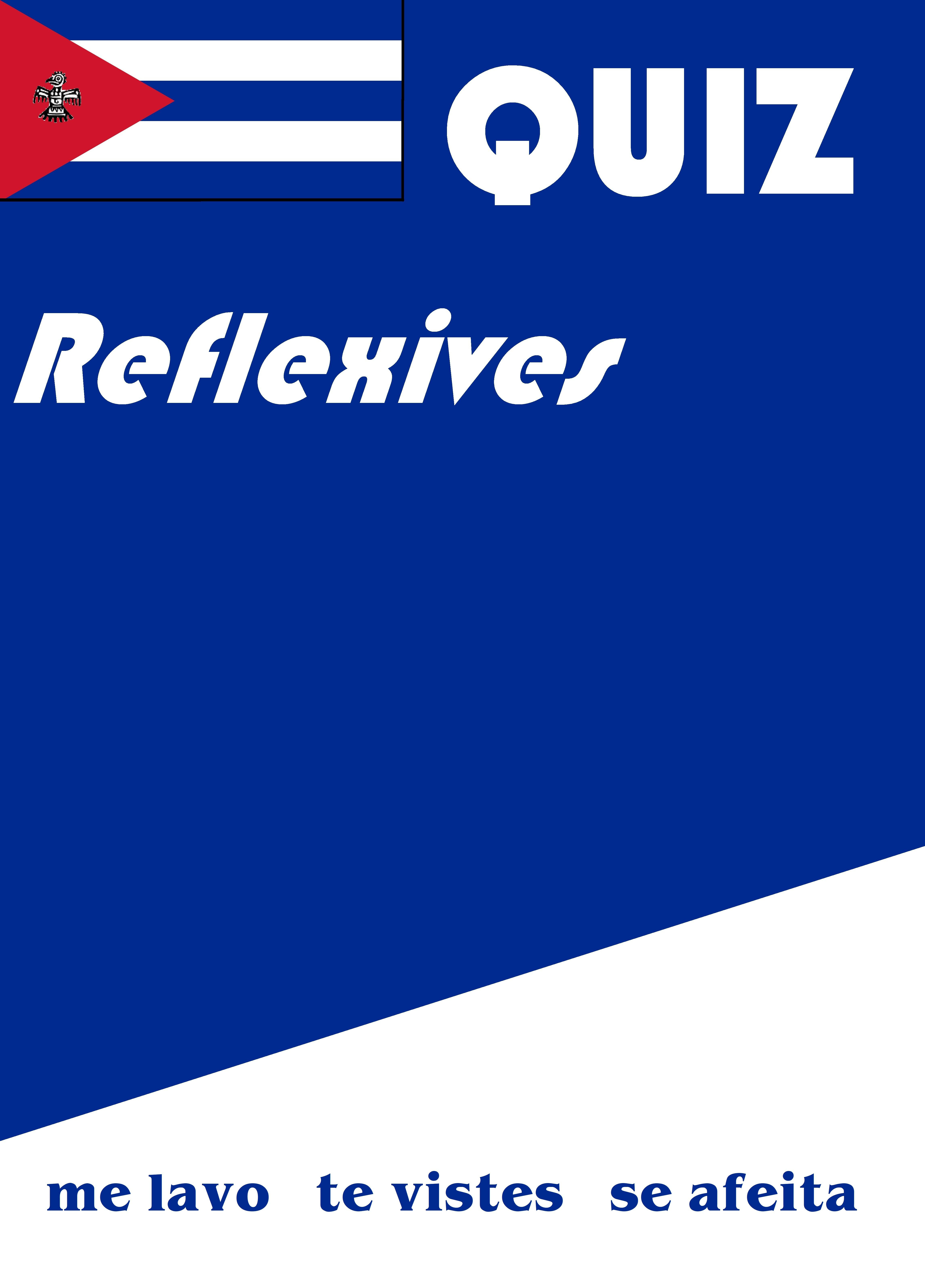 Spanish Reflexives Quiz Or Worksheet In