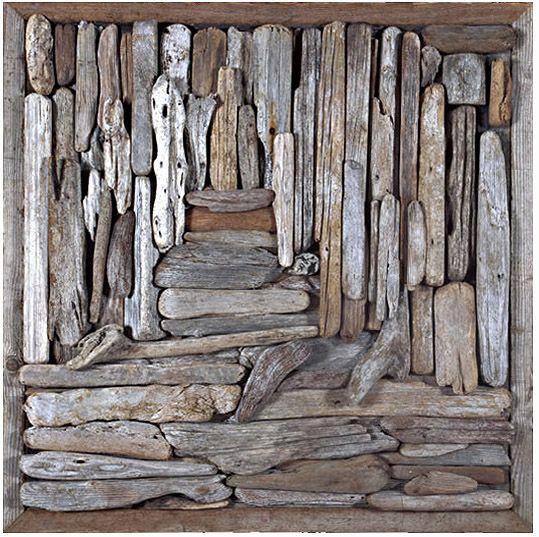 John Dahlsen, enviro artist and contemporary painter - driftwood collection and assemblage art