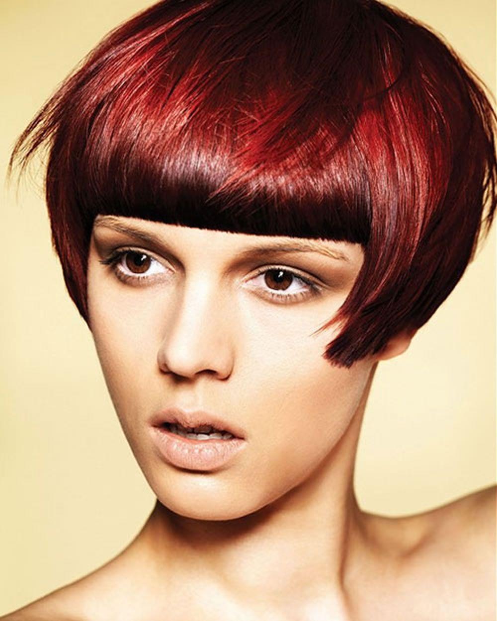 2018 red frisuren - red short hair ideen & farben für damen