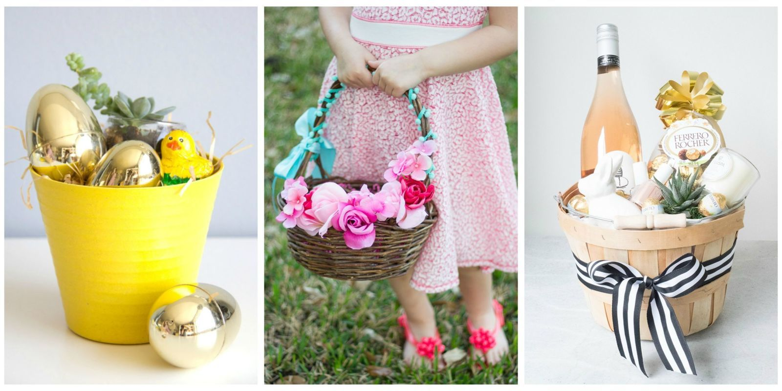 15 Cute Homemade Easter Basket Ideas Country Living Homemade Easter Baskets Easter Basket Diy Easter Baskets