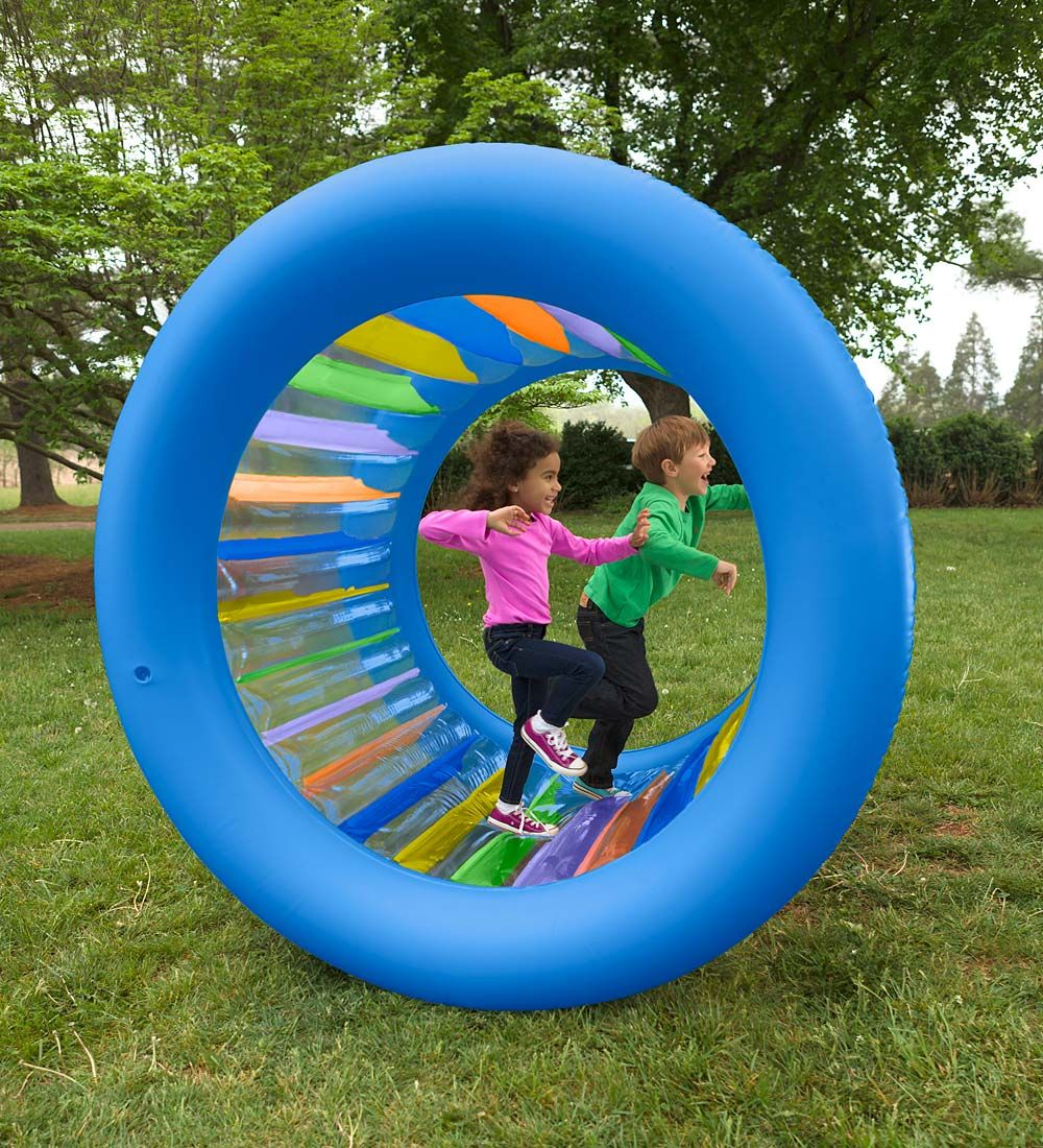 Outdoor Toys For Teens : Inflatable land roller giant wheel