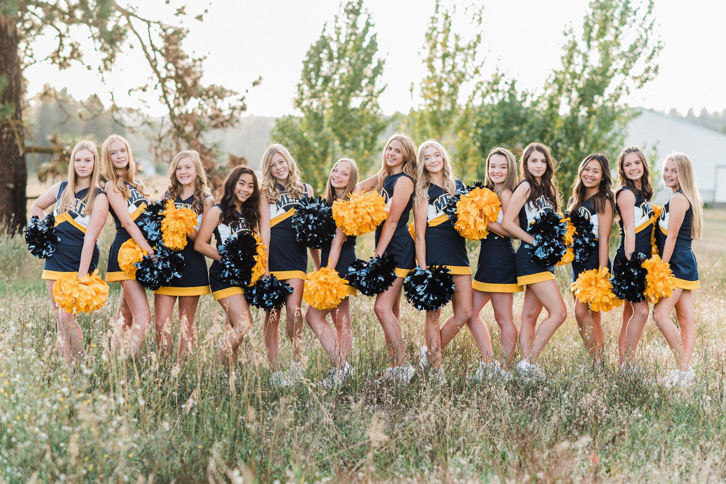 Mead High School Jv Cheer Team Photos Spokane Wa In 2020 Dance Team Photos Team Photos Dance Team Pictures
