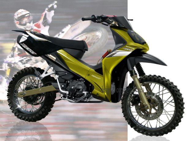 Modifikasi Absolute Revo Bergaya Supercross