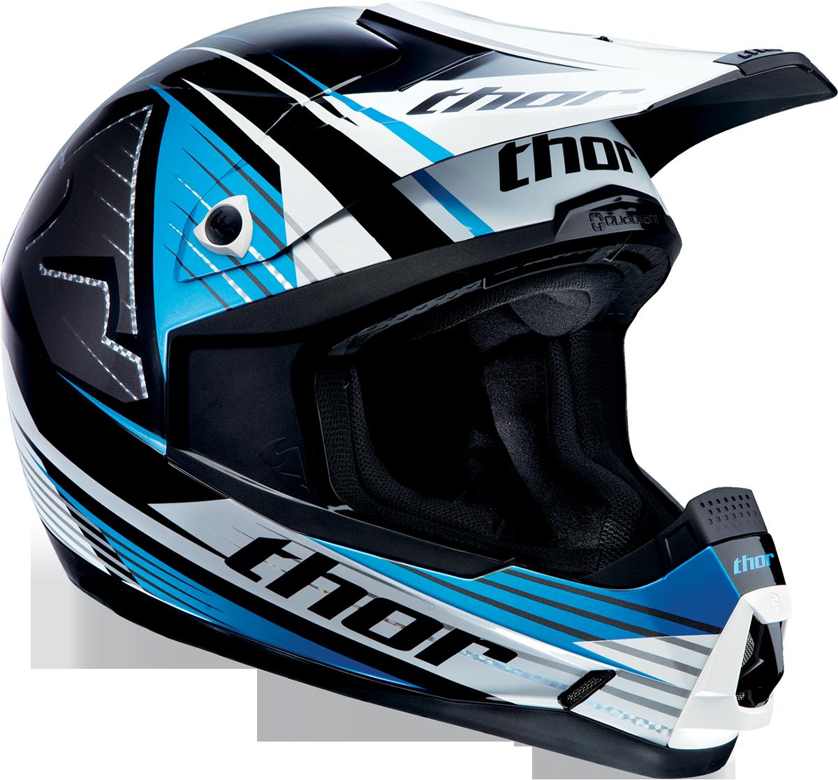 Thor Quadrant Race Blue Helmet