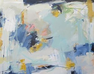 Day After II by artist Eileen Power. #abstractpainting found on the FASO Daily Art Show - http://dailyartshow.faso.com