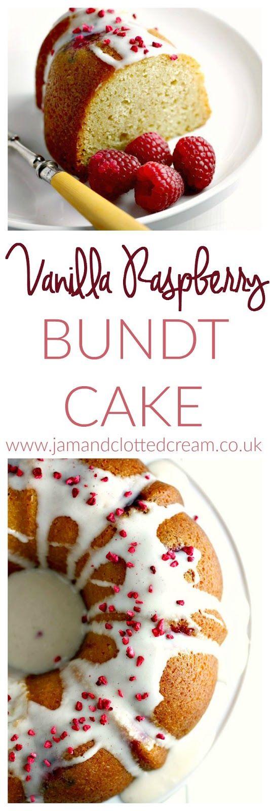 Vanilla Raspberry Bundt Cake Recipe Cakes Cake