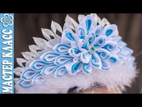 DIY Easy Fabric Flower, One strip of Fabric, Tutorial, DIY - YouTube