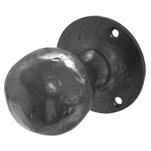 Black Iron Door Knobs - Door Knobs - e-Hardware door handles ...