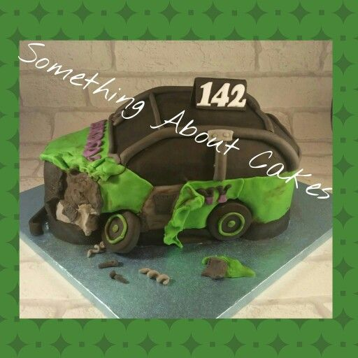 Banger Car Cake Something About Cakes Pinterest Car cakes