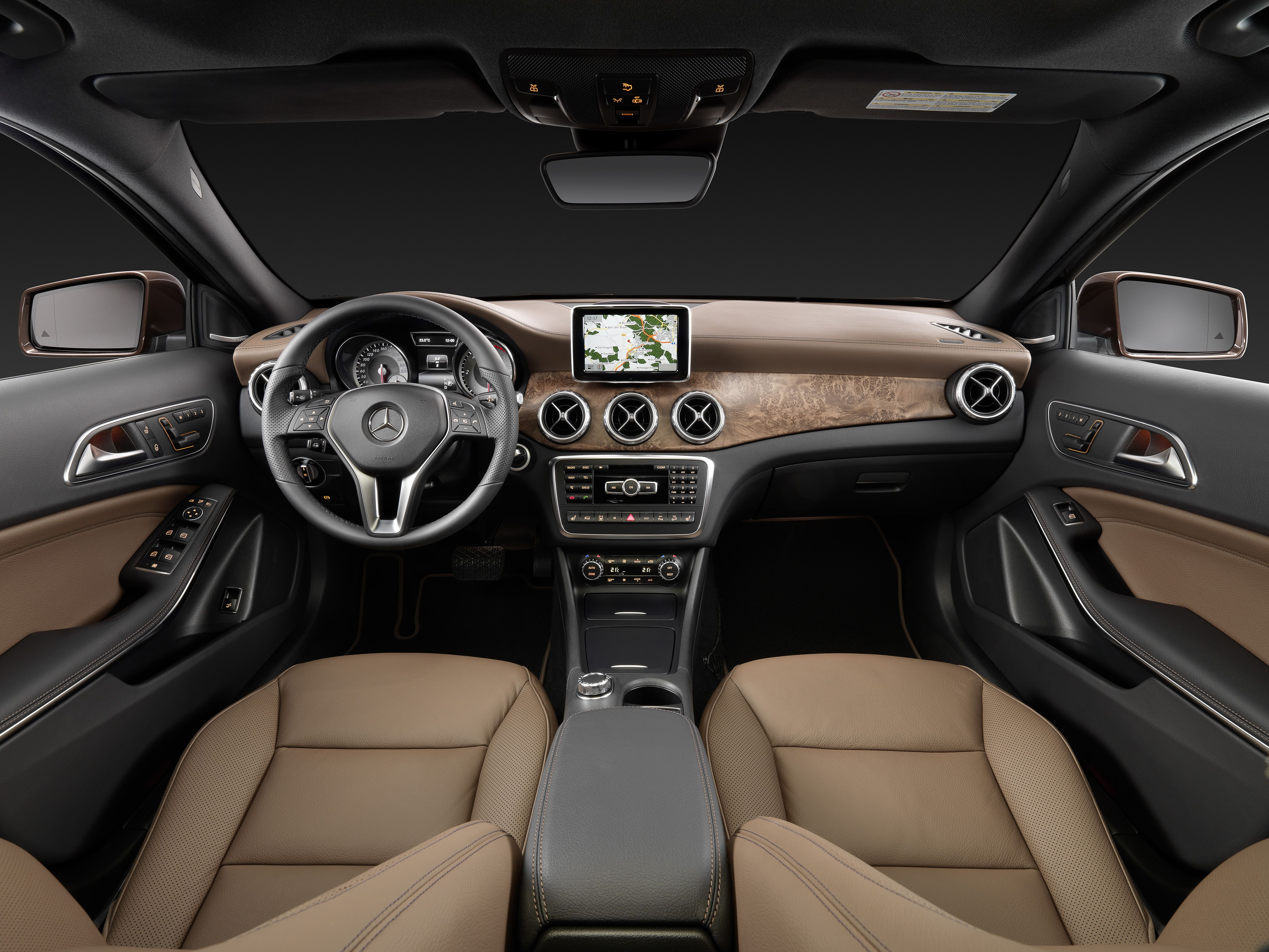 New Mercedesbenz Gla Thebestornothing Interior With Images