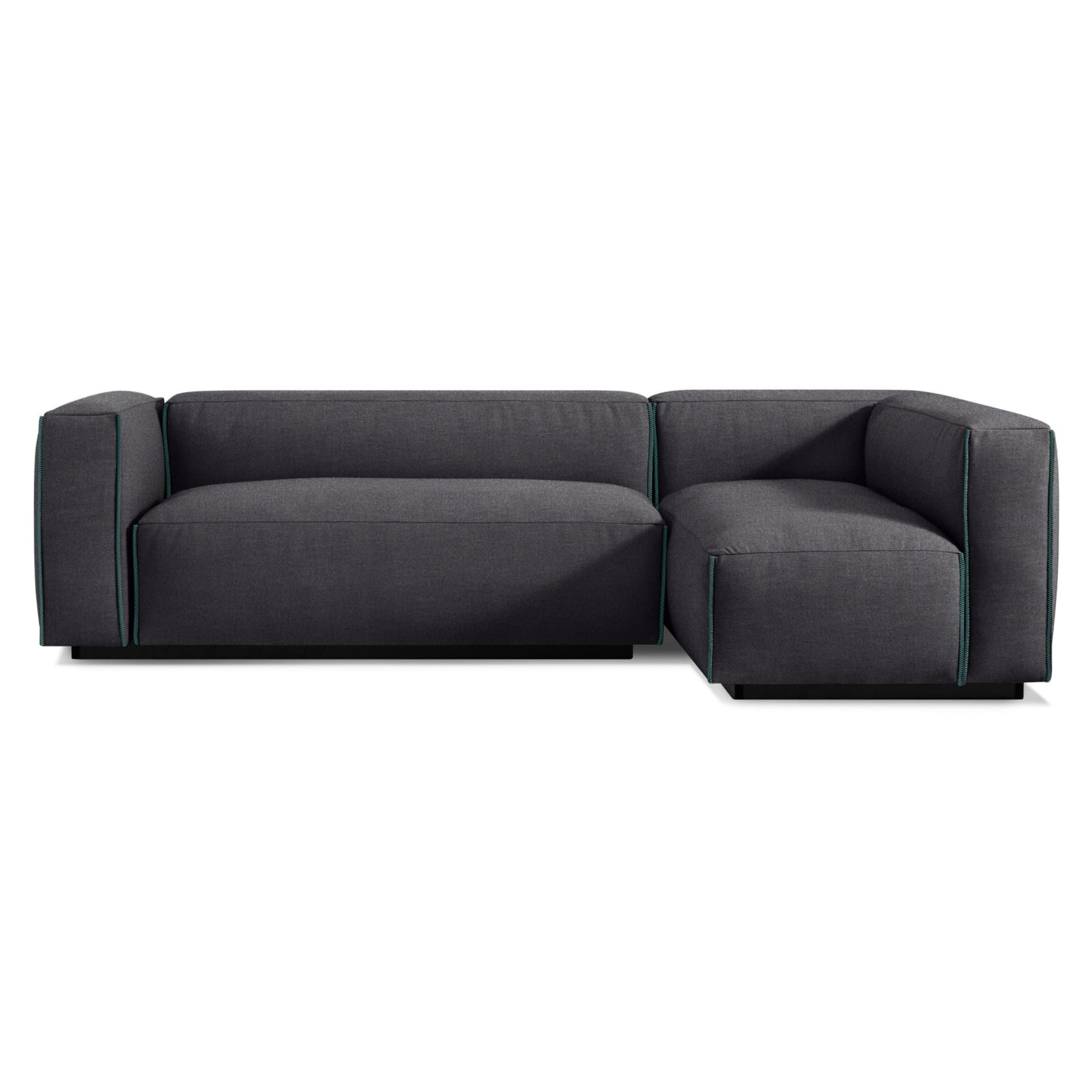 Cleon Small Sectional Sofa In 2020 Small Sectional Sofa Sectional Sofa Modern Sofa Sectional