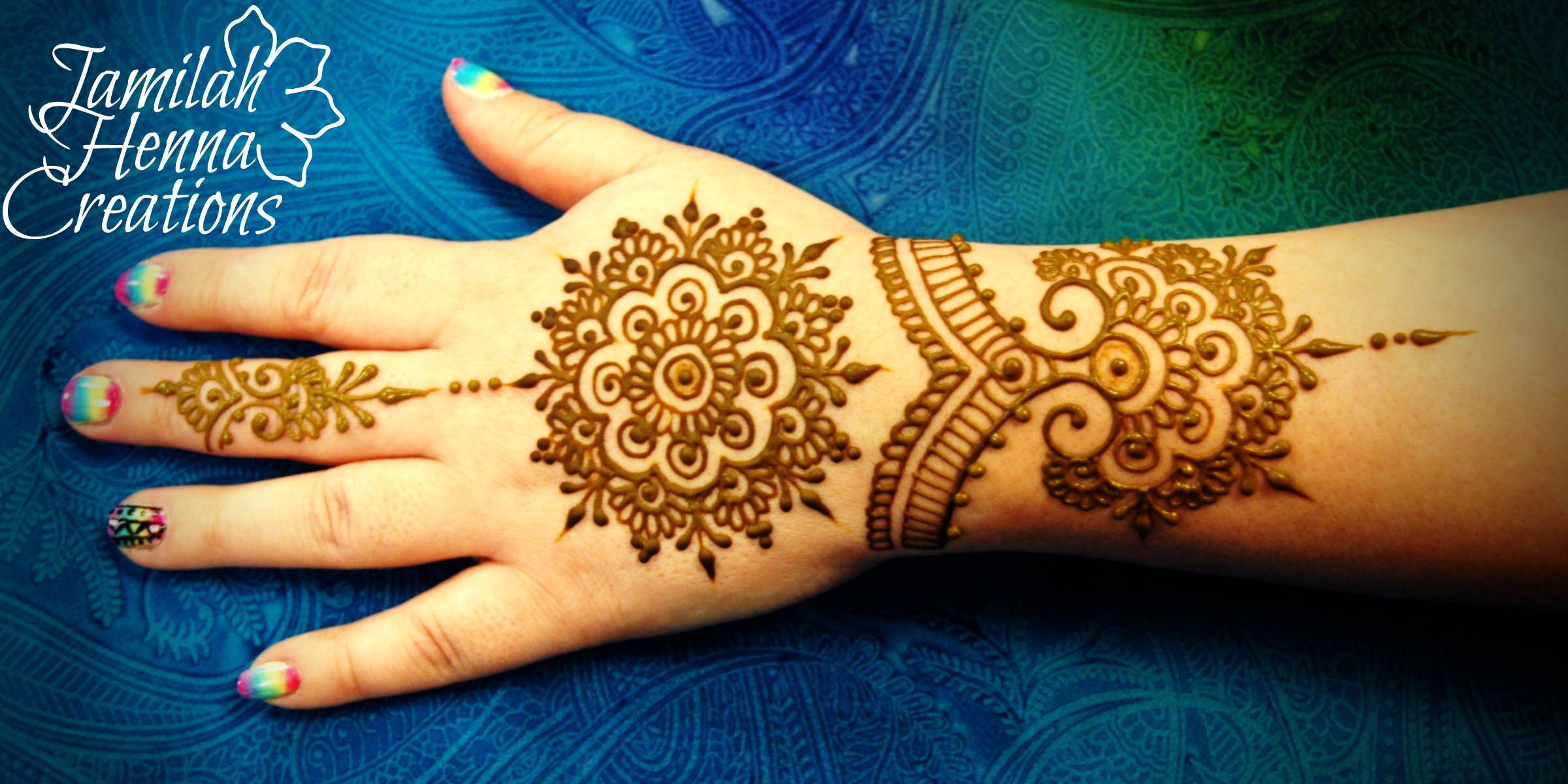 Henna Cuff Www Jamilahhennacreations Com: Mandala Cuff And Ring Henna Www.JamilahHennaCreations.com