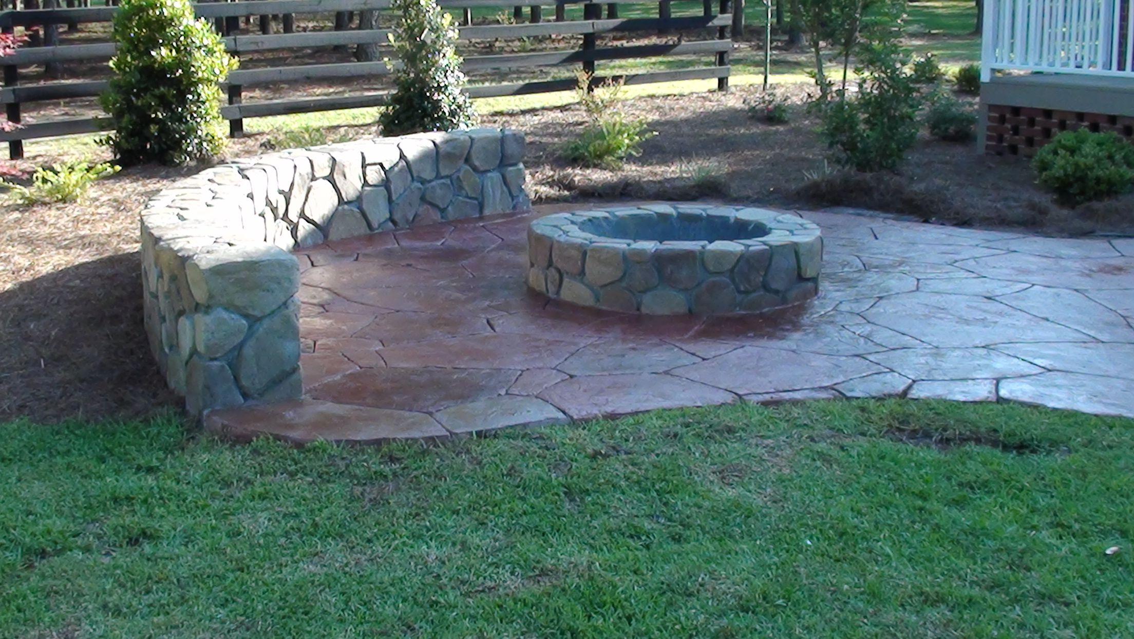 Stonemaker Fire Pit Seatwall Jpg 2 208 1 244 Pixels Outdoor Relaxing Patio Hardscape