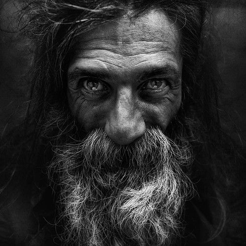 This post showcase stunning black and white portraits of homeless people taken by lee jeffries he started taking homeless people photos when he met a young