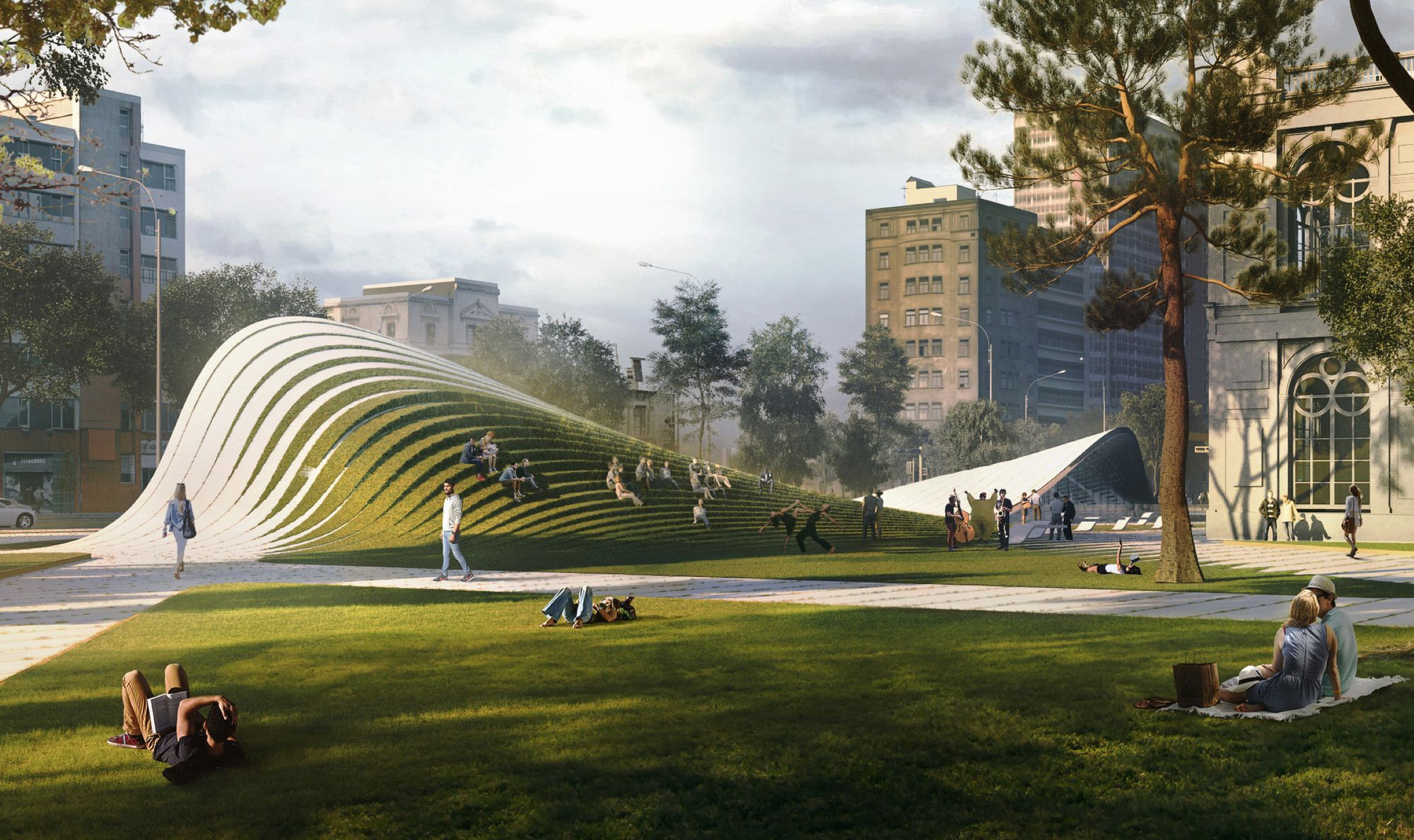 13 Designs Given Honorable Mentions for Lima Art Museum (MALI) Expansion Competition