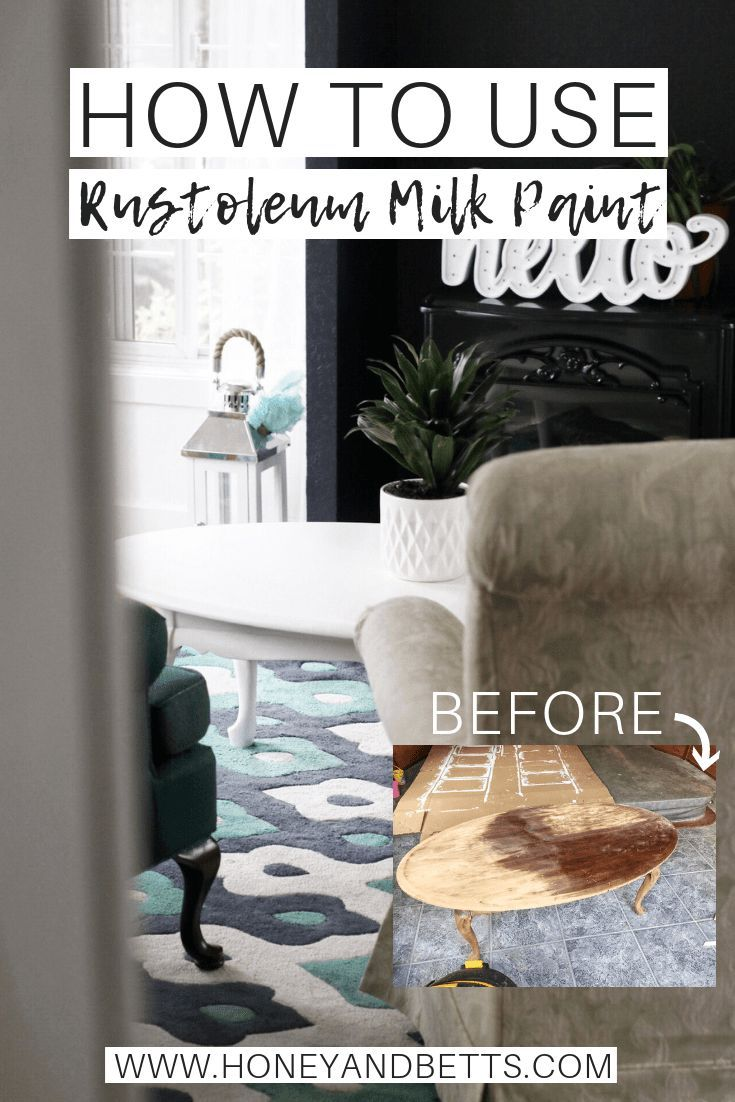 Best Beginner Diy Project How To Use Rustoleum Milk Paint On A Coffee Table Milk Paint