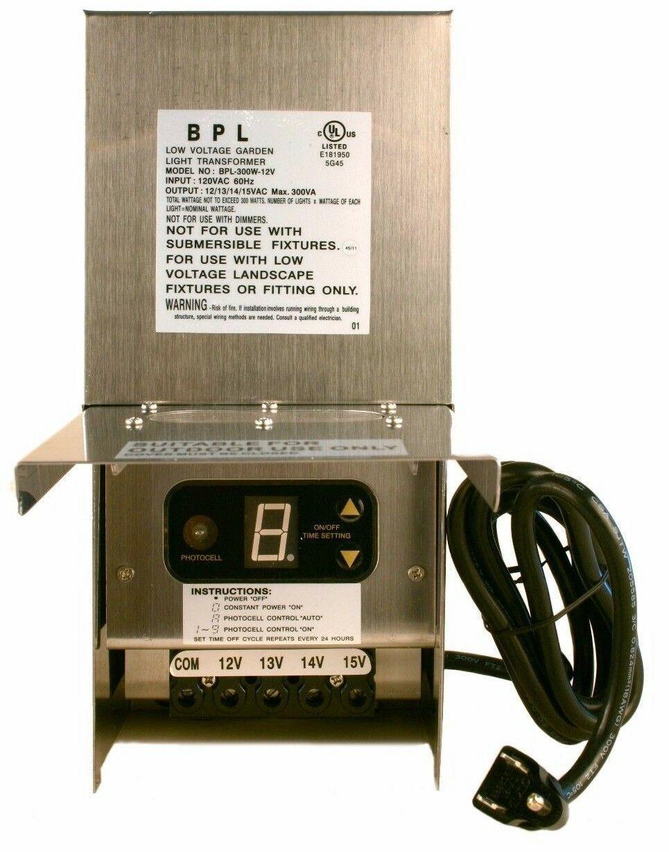 Details About 60 150 300 600 Watt Low Voltage Outdoor Landscape Lighting Transformer 12 15v In 2020 Landscape Lighting Transformer Digital Timer Led Bulb