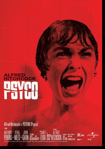 Psycho | Filmes, Posters de filmes, Alfred hitchcock