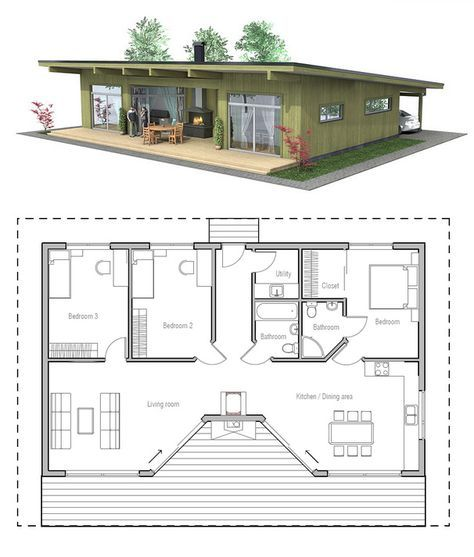 Home Plan CH61