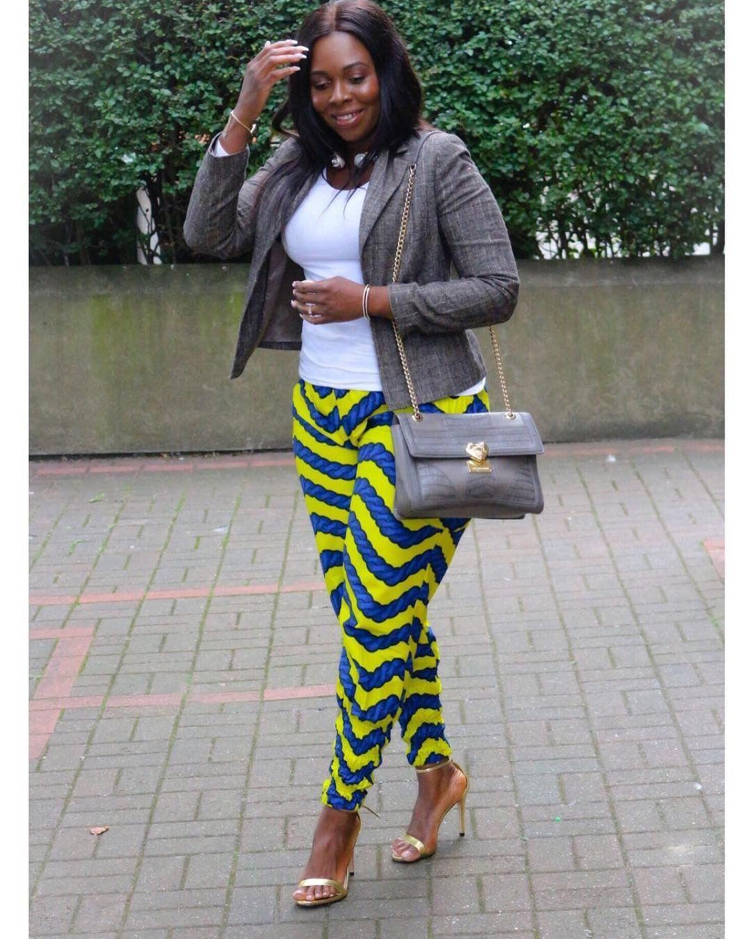 ff73949bdf21 Stylish Ankara statement trousers for women #spring #ankara #womenswear  #womensfashion #makeup. Read it