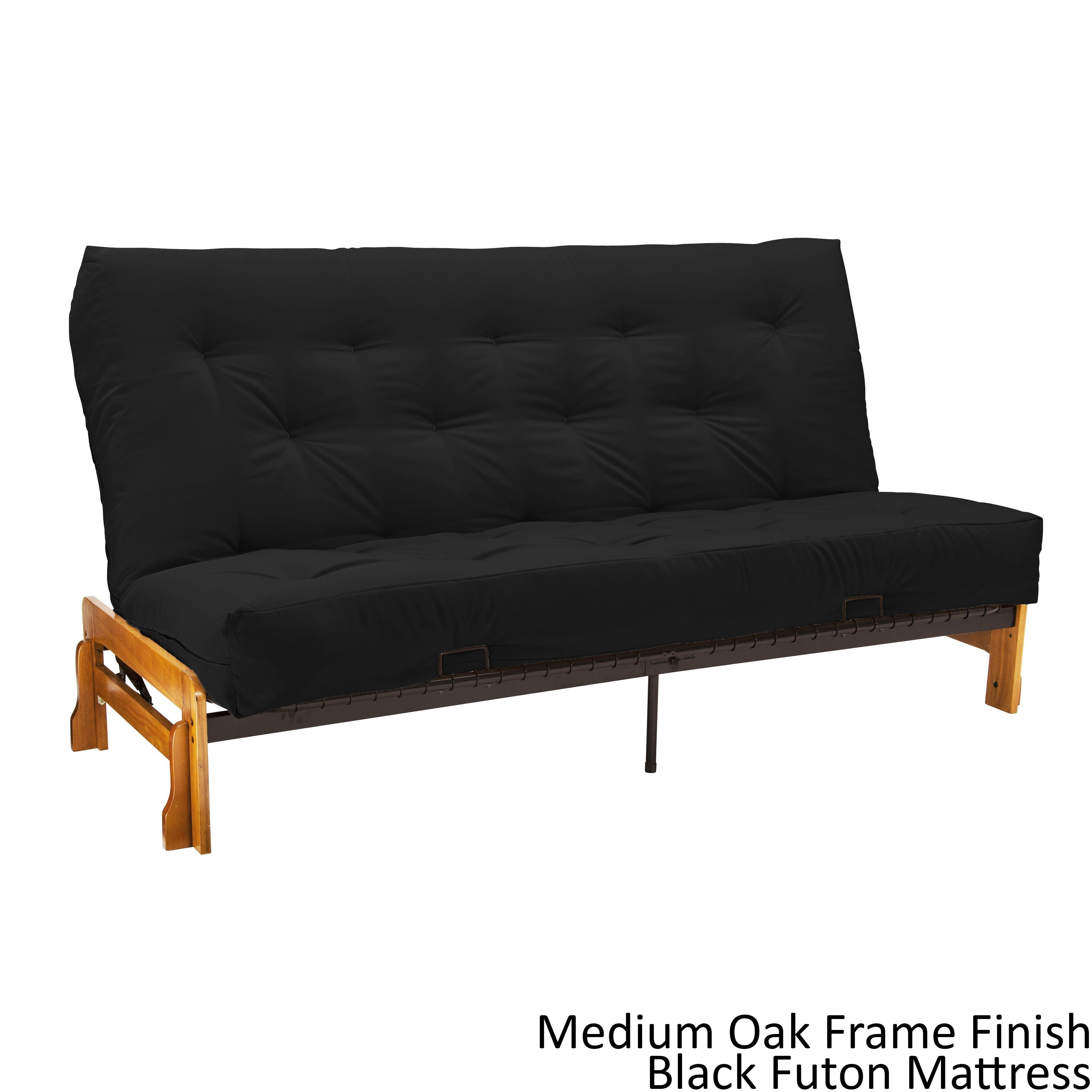 epicfurnishings boston armless futon frame  premier mattress set sleeper bed epicfurnishings boston queen armless futon frame  premier mattress      rh   pinterest
