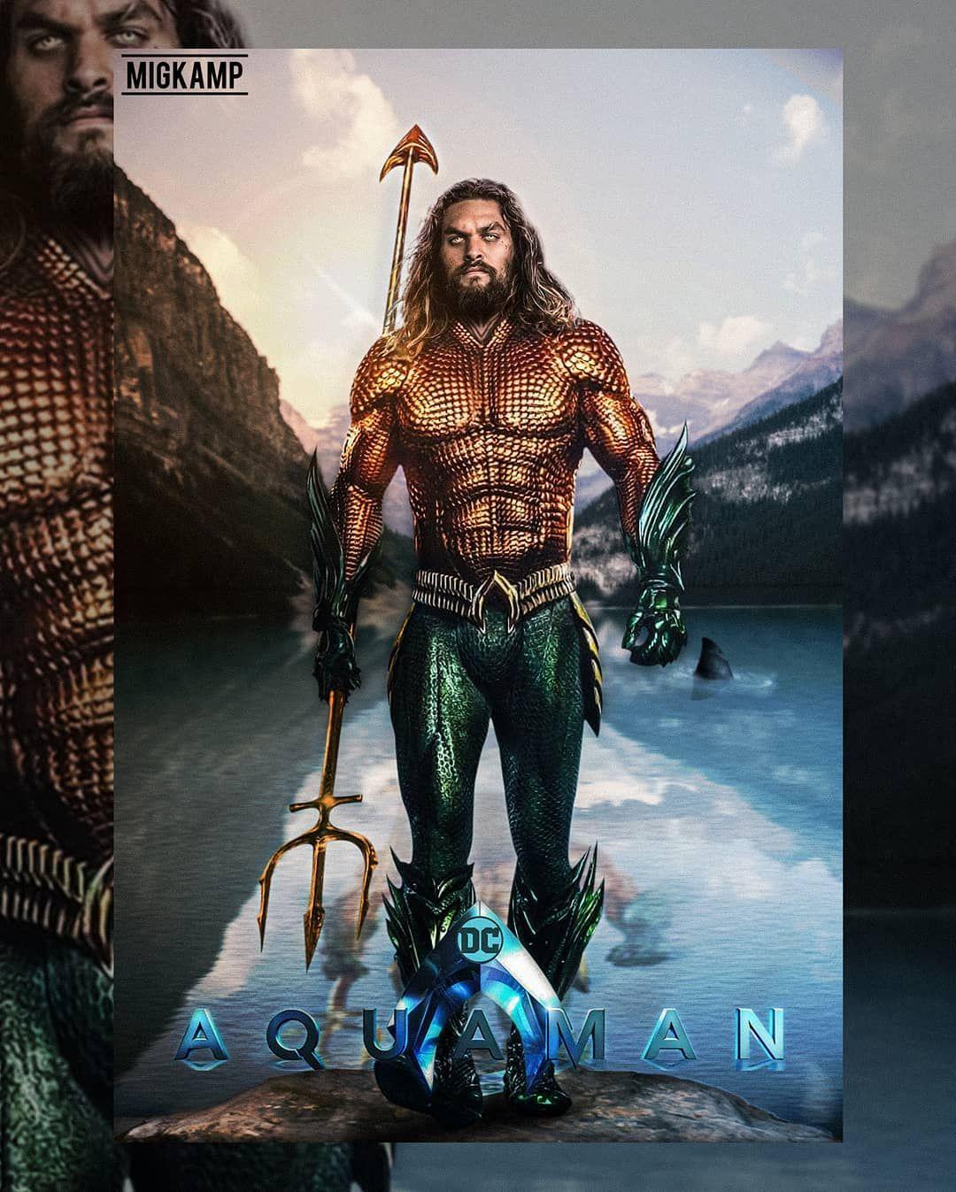 Godzilla 2 Imax Poster Textless: Trends International AquamanTrident Wall Poster 22375quot X 34