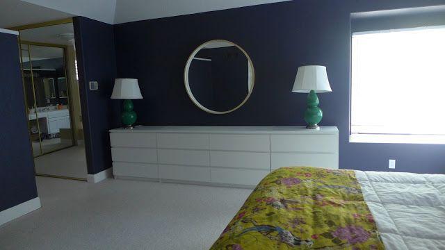Lisa Moves Master Bedroom In Progress Wall Of Dressers Master Bedroom Bedroom Bedroom Dressers