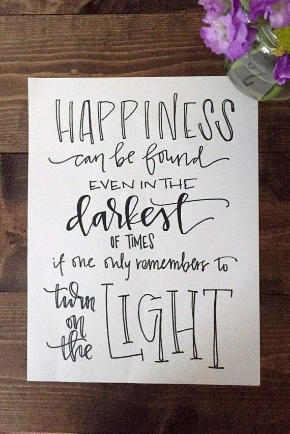 Harry Potter Quote  Calligraphy  Movie Quotes | Etsy