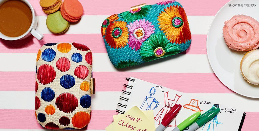 Straw Handbags 2014 Lookbook | SHOPBOP