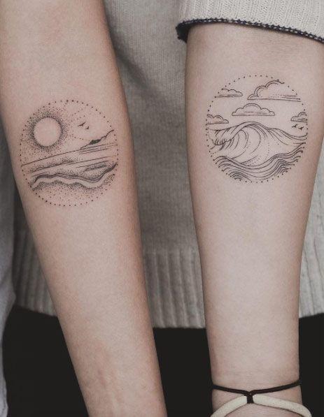48 charming unique circular tattoo designs tattoos on women pinterest tattoo. Black Bedroom Furniture Sets. Home Design Ideas