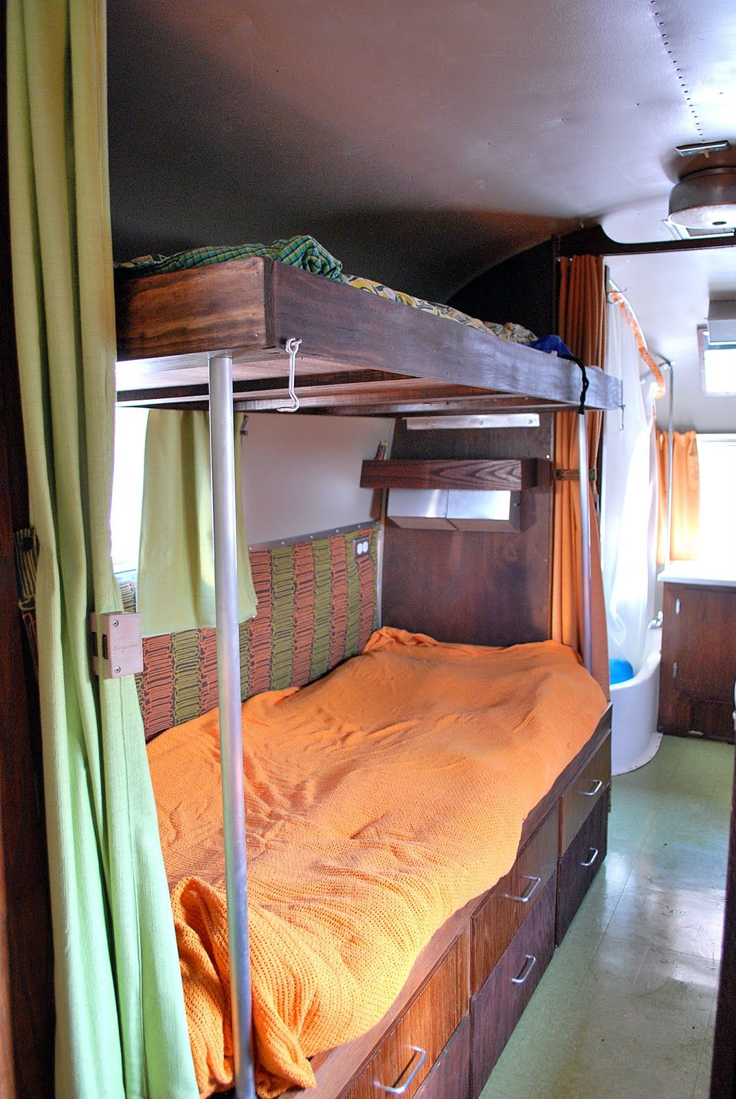 Airstream Twin Bed Size