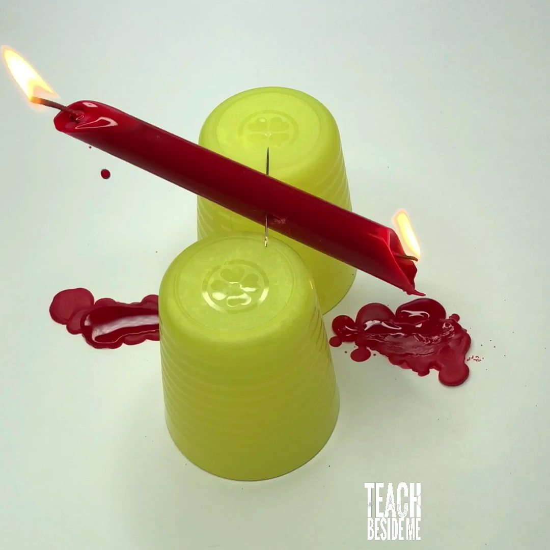 Awesome science experiment for kids teaching about kinetic energy!  #scienceexperiment #scienceproject #kineticenergy #kidsactivities