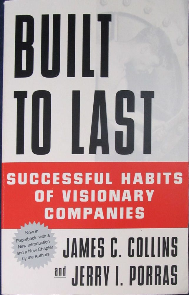Built To Last  by James Collins (1997, Paperback)