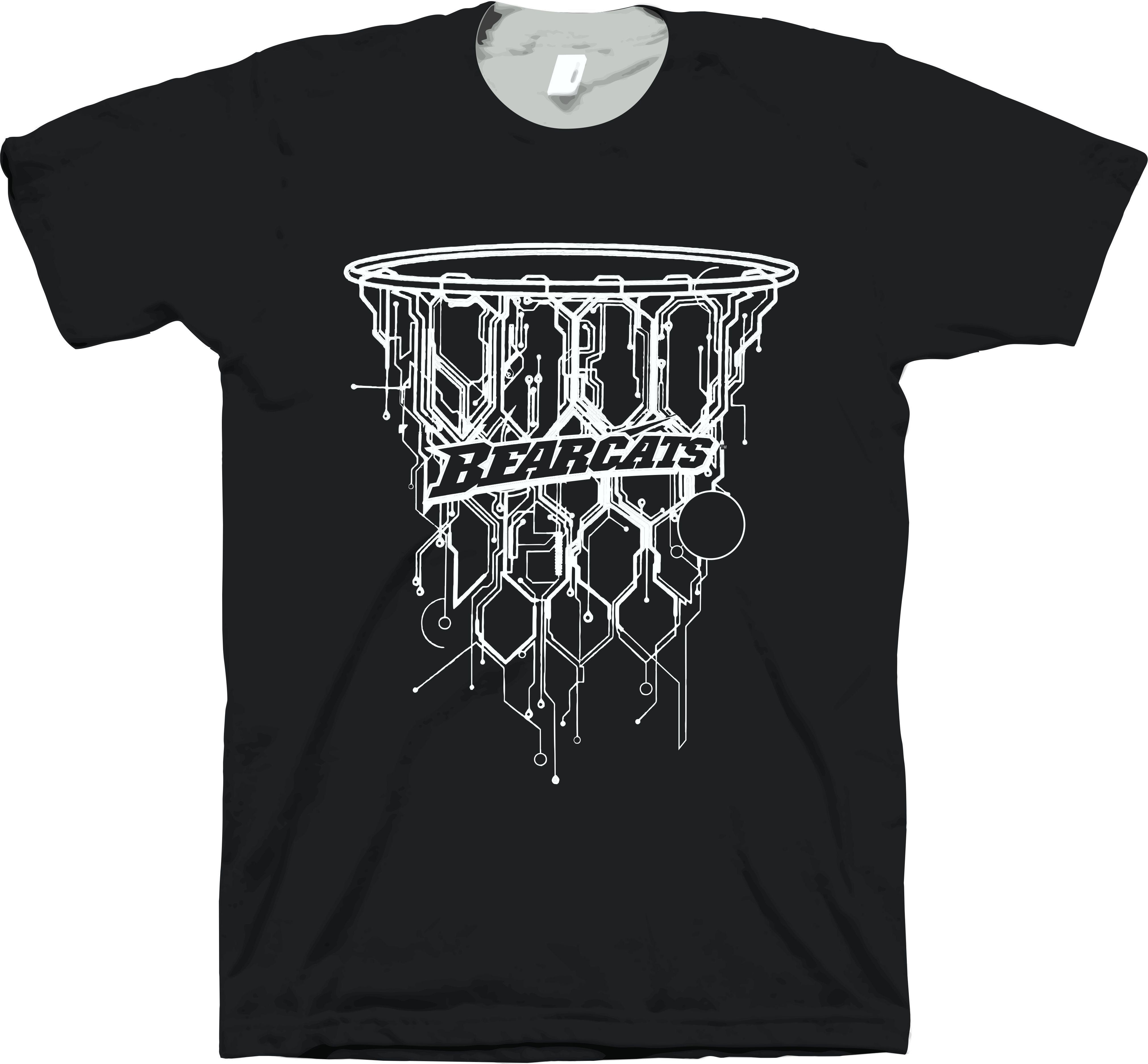 Bearcat Basketball Design | Sports T-Shirt Designs | Pinterest ...