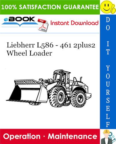 Liebherr L586  U2013 461 2plus2 Wheel Loader Operation