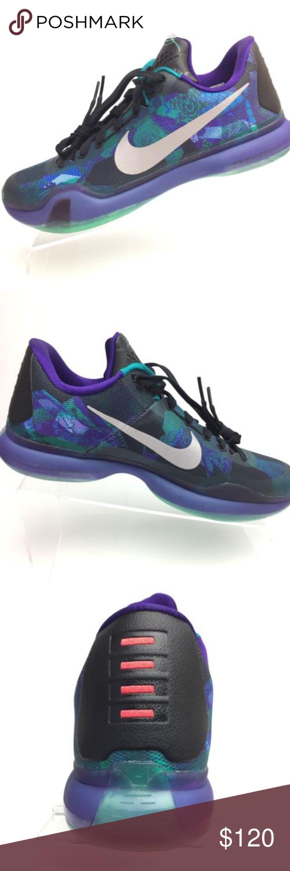 5c8004edfd9a Nike Kobe X Elite Low OVERCOME Emerald Glow Shoes Nike Kobe X Elite Low  OVERCOME Emerald Glow Basketball Shoes Men s Size 8.5 US 705317-305 Brand  New ...