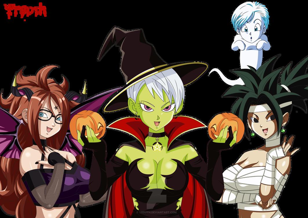 Happy Halloween - Dragon Ball Super by YrsuTh on DeviantArt