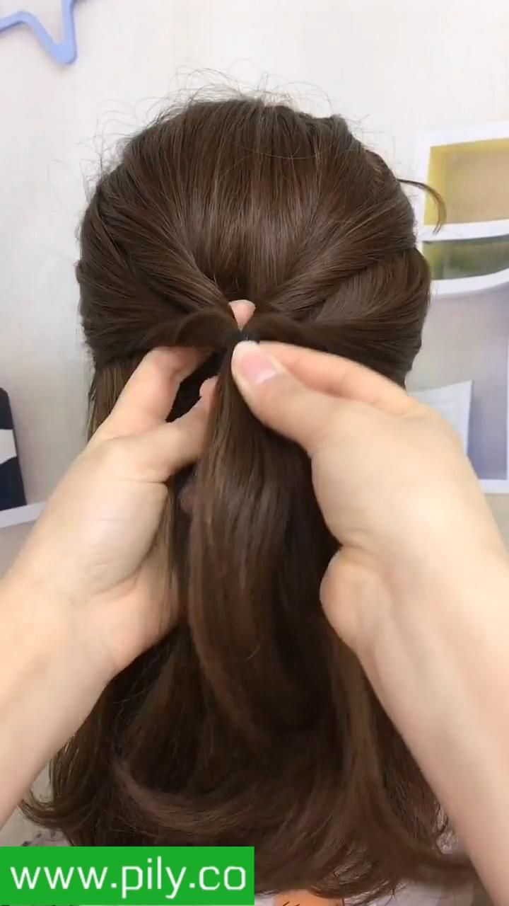 hairstyles for medium length hair videos easy