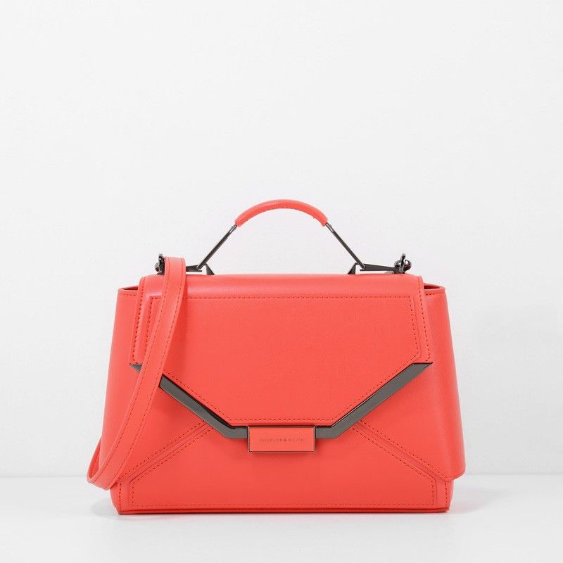 Structured Handbag - Red - Handbag - Bags | CHARLES & KEITH | Bags ...