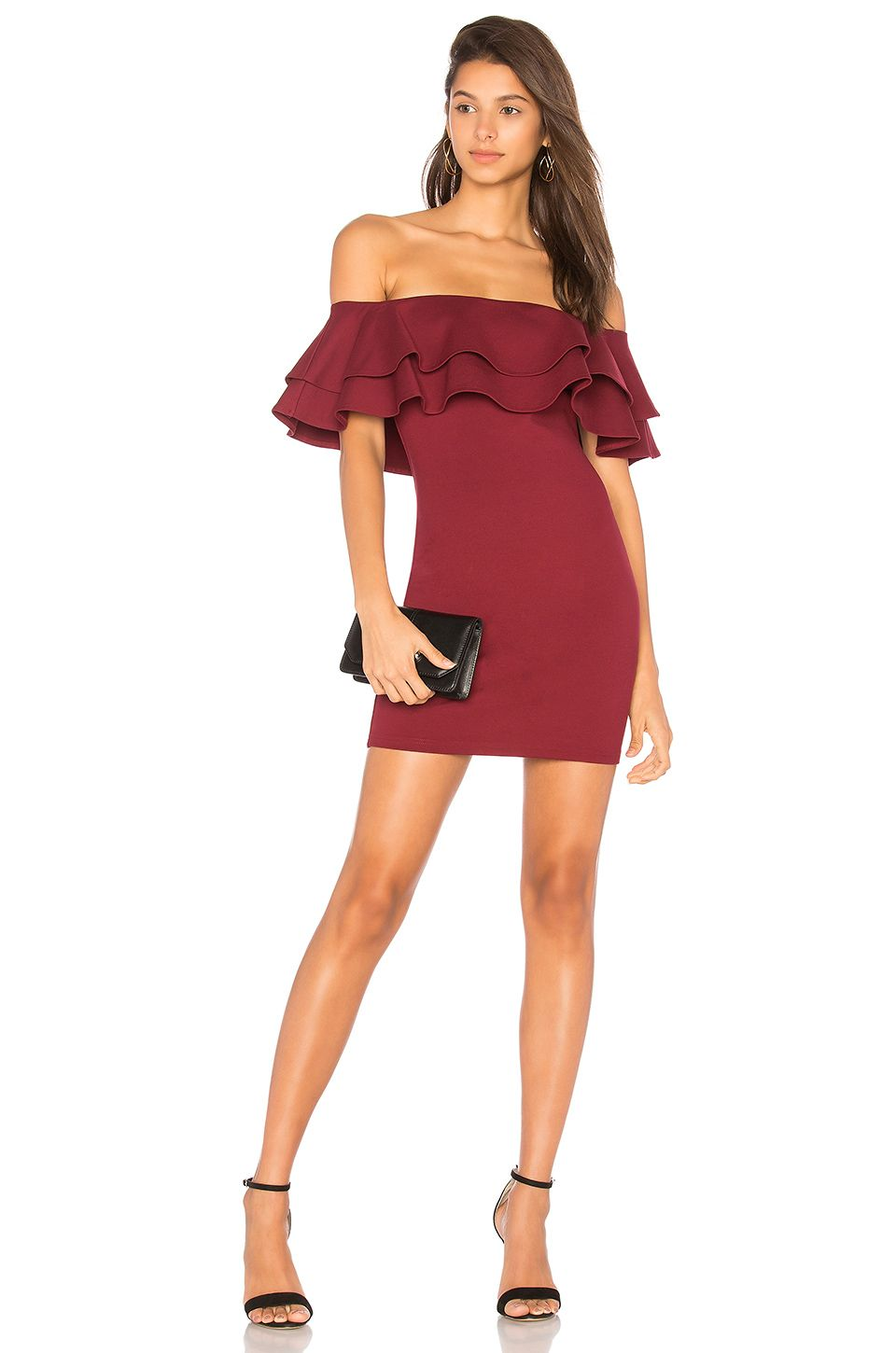 3609f32ea729 by the way. Rhiannon Tiered Mini Dress in Red | REVOLVE | My Style ...